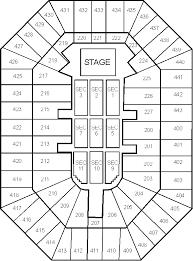 Bradley Center Detailed Seating Chart Bradley Center Seating Chart