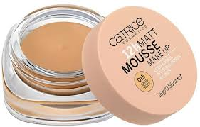 catrice 12h matt mousse make up 015 sand beige 16 g by catrice makeup