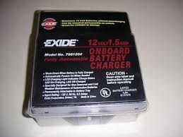 exide battery charger exide fully automatic 12v 1 5a onboard battery charger