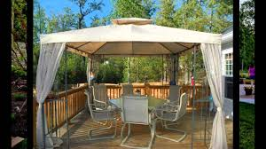 Gazebos decorating ideas Lights Youtube Small Patio Gazebo Ideas Youtube