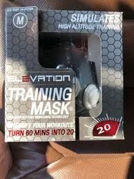Elevation Training Mask 2 0 Blackout Edition Increase Lung