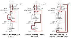 how to wire redundant thermostat hot water heater wiring diagram Hot Water Heater Wiring Schematic hot wiring diagram typical to residential 240 volt non simultaneous operation water heaters electric current paths electric electric hot water heater wiring schematic