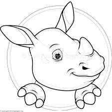 Cute Baby Hippo Coloring Pages Getcoloringpagesorg Baby Hippo