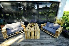 diy pallet patio furniture make your own outdoor ideas