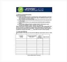 Bid Sheet Template 14 Free Sample Example Format