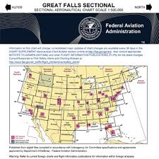 Great Falls Sectional Chart Vfr Great Falls Sectional Chart