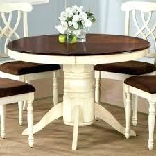 white round farmhouse coffee table white round farmhouse table round farmhouse dining set two tone farmhouse dining table for round idea white round