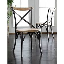 industrial reclaimed wood furniture. WE Furniture Industrial Reclaimed Solid Wood Dining Chairs Set Of 2