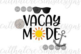 Sunglasses Quotes Unique Vacay Mode Sun Anchor Sunglasses Qu Design Bundles