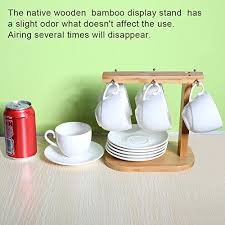 Tea Set Display Stand For Sale Espresso Cups And Saucers Set Set Of 100 [100 OZSMALL Coffee Cup 42