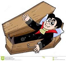 Resultado de imagem para imagens de vampiro no caixão
