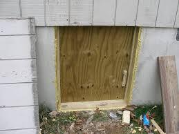 Decorating crawl space door images : Basement Crawl Space Door Ideas Functional Idea Jeffsbakery ...
