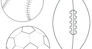 soccer field templates printable soccer field template kids coloring ball pages sports