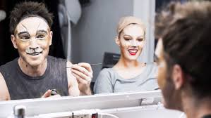 how to paint your jellicle face makeup lessons from broadway s actual cats
