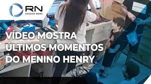 Vídeo mostra últimos momentos do menino Henry - YouTube