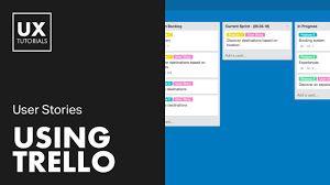 Ux User Story Template User Stories And Trello Agile Workflow Ux Tutorial