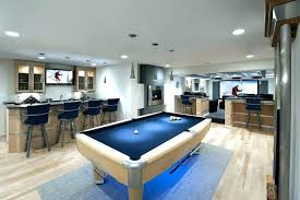 rug under pool table lovely contemporary basement with area best size for poo