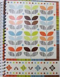 Greenbrier Garden Style Spiral Notebook Multicolored Leaf Patterns