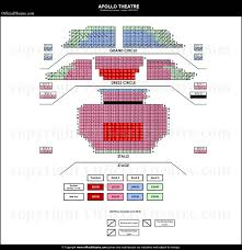 Apollo Theatre London Seat Map And Prices For The Snail And