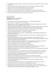 Infantry Squad Leader Resume Military Transition Resume Samples