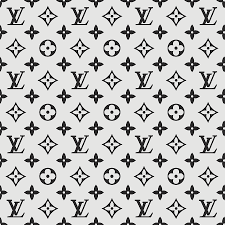 Lv Pattern Stunning Louis Vuitton Pattern Lv 48 Grey Digital Art By TUSCAN Afternoon