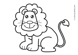 Small Picture Lion Animal Coloring Pages The Giraffe With Long Neck And Legs