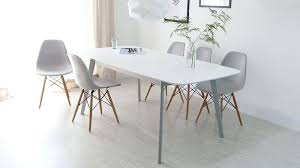 full size of modern white leather dining room chairs table and zenith extendable astonishing top glamorous