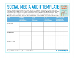 Reporting Formats In Word Social Media Reporting Templates Template Business