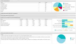 Survey Result Template Survey Template Excel Example Questionnaire Layout Statistics En Up 3