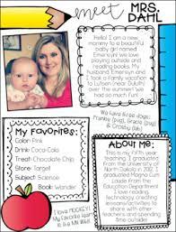 Meet The Teacher Letter Templates Meet The Teacher Letter Templates