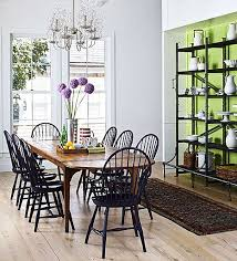 black windsor chairs. Love These Black Windsor Chairs They Really Make The Room Great Within Dining Idea 18