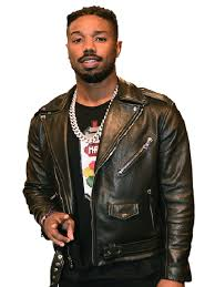 nba all star weekend michael b jordan leather jacket