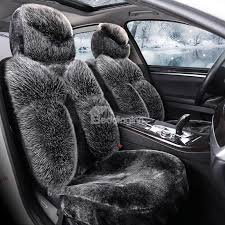 39 luxury high grade plush warm universal car seat covers