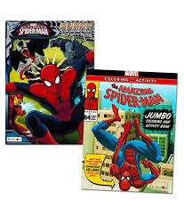 Shop the top 25 most popular 1 at the best prices! Marvel Spiderman Coloring Book Super Set 2 Jumbo Books Over 200 Pages Total Buy Marvel Spiderman Coloring Book Super Set 2 Jumbo Books Over 200 Pages Total Online At Low Price Snapdeal