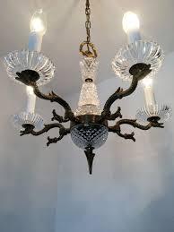Details About Empire Antik Stil Kronleuchter Messing Decken Lampe Vtg 6 Fl Lüster Alt