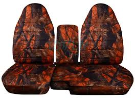 ford ranger 60 40 orange real tree camo seat covers