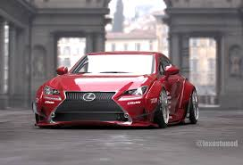 lexus rc f sport red.  Lexus Lexus RC F SPORT Rocket Bunny Intended Rc Sport Red A