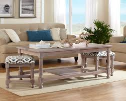 coffee table with nesting seats thesecretconsul