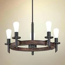 collection 7 light dark wood rectangular chandelier with clear seeded glass
