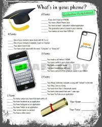 whats in your cell phone game free printable