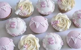 Baby Shower Cupcakes Girl Diy Homemade Cute Toppers Easy Photos