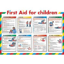 Free Printable First Aid Chart First Aid For Children Chart From Signs Plastic Products