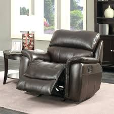 dark brown leather recliner chair. Brown Leather Chair Recliner Manual Dark Electric Reclining E