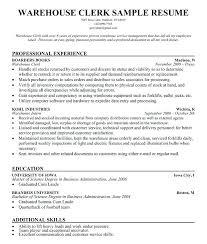 Warehouse Stocker Resume Sample Stock Resume Resume Stock Resume