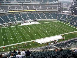 Lincoln Financial Field View From Upper Level 222 Vivid Seats