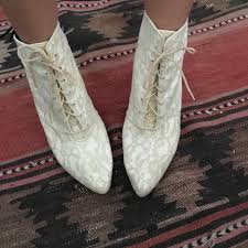 49% off studio 6 shoes vintage white lace wedding granny boots Wedding Granny Boots studio 6 shoes vintage white lace wedding granny boots granny boots for wedding