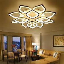 Living Room Led Lights Modern Luxury Living Room Led Ceiling Lamp