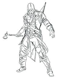 Assassins Creed Coloring Book With Assassins Creed Coloring Pages