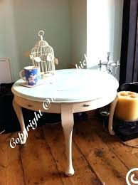 shabby chic round coffee table coffee table shabby chic large round top shabby chic coffee table