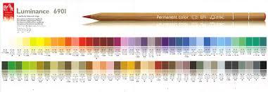 Caran Dache Luminance Pencils